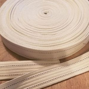 Firm price- 25+ yards upholstery webbing s…